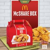 McDonalds McShare Satisfy everyone's chicken craving!