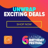 Here comes Lazada 6th Birthday Sale