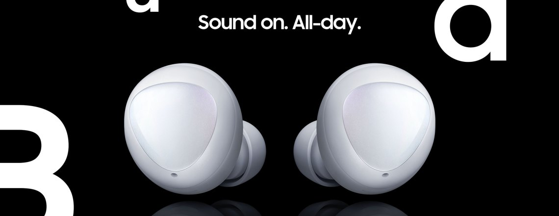 SAMSUNG Galaxy Buds, available in stores today