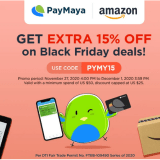 Exclusive deals when you shop on Amazon.com and pay with PayMaya