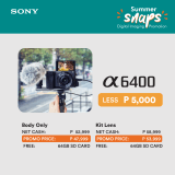 Your vlogging and content creation at home just got better with Sony Philippines' Summer Snaps Gadget Deals