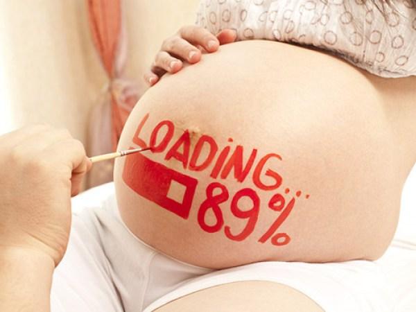 Dấu hiệu sắp sinh trước 1 tuần
