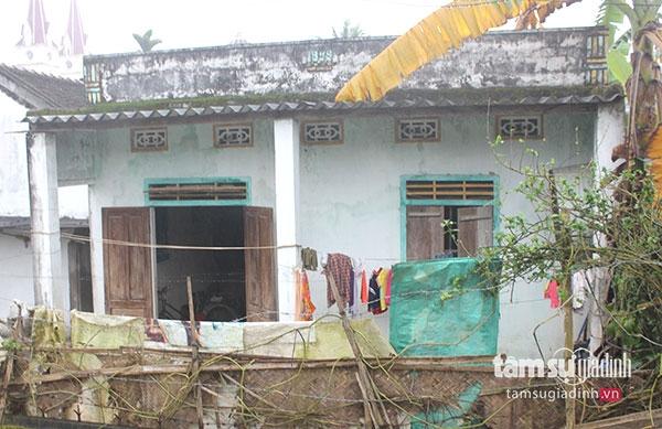 Ngôi nhà nơi ba mẹ con chị Thủy sinh sống