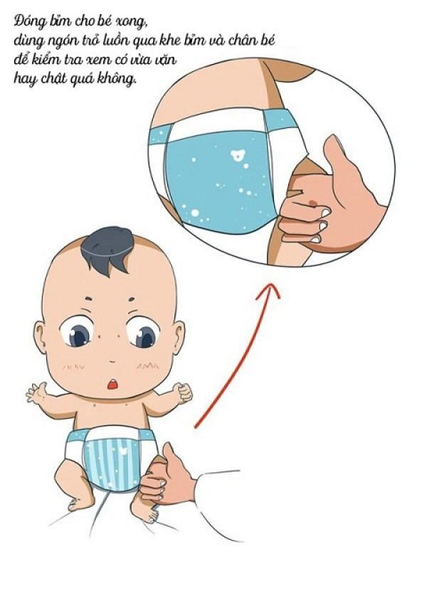 Bỉm cho trẻ sơ sinh loại nào tốt và tiết kiệm chi phí?