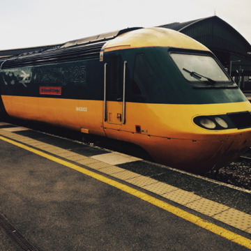 Sir Kenneth Grange train