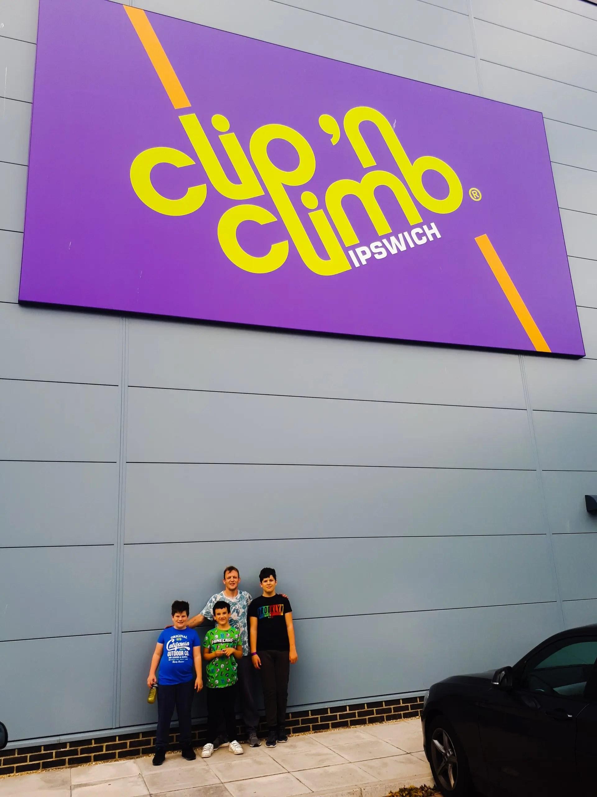 Clip n Climb Ipswich
