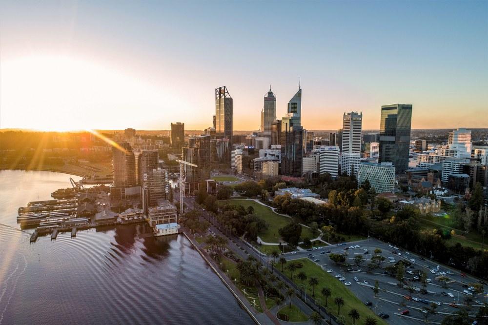 Perth City, WA.