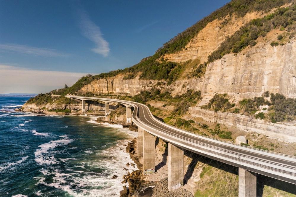 The Sea Cliff Bridge, NSW