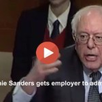 Employers agree with Senator Bernie Sanders on government takeover of health insurance? (VIDEO)