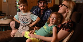 As Insurance Options Shrink, Families Are 'Holding Our Breath'