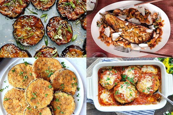 Easy recipes with eggplant. Friendly weeknight meal!