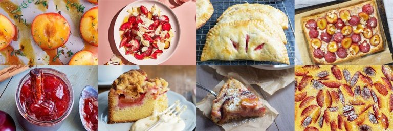 Recipes with plums. Delicious and tasty.