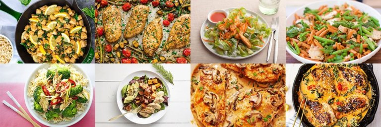 Healthy dinner ideas with chicken