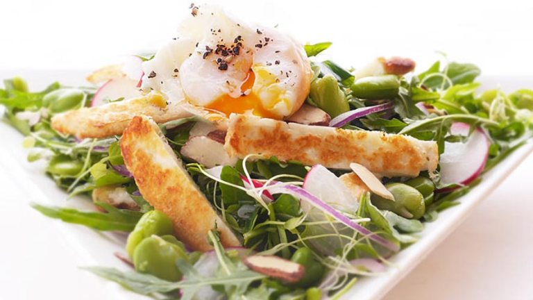 Amazing Watercress and Halloumi Salad Recipe