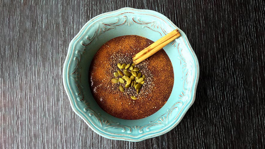 Açaí Blue Smoothie Bowl Recipe