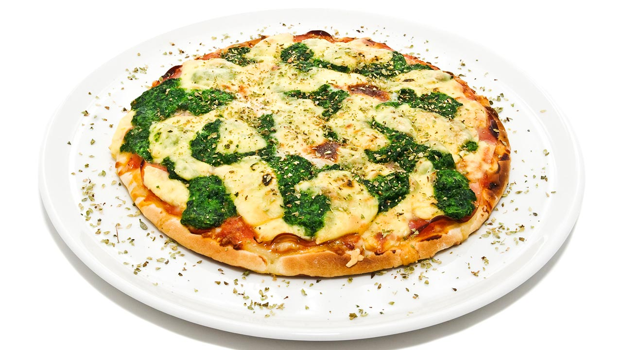 Homemade Pizza with Ramps