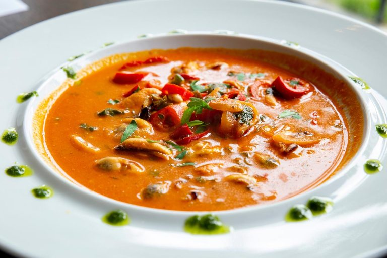 Chicken, Chard, Bean and Butternut Squash Soup