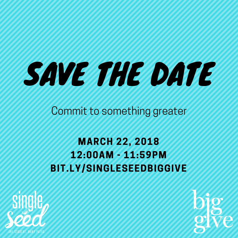#BigGive2018, Single Seed Enrichment School