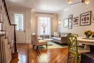 1116 Garden Street - living room
