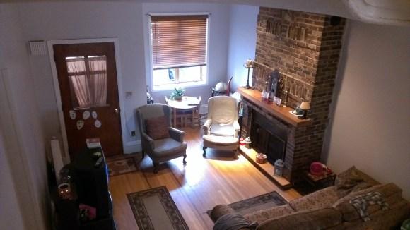213 11th St - living room