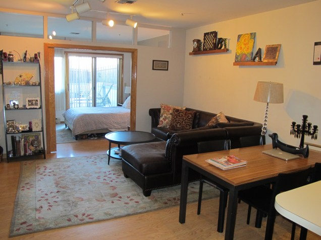 72 Park Ave 1B - living room