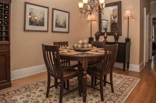 929 Garden St #4R - dining room