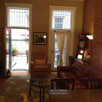 1102 Washington St #1 - living room 1
