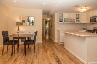 509 Garden St #1 - Dining Kitchen
