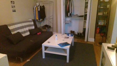1026 Washington St. #3R - living room