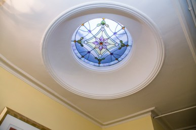 825 Willow Ave - stained glass
