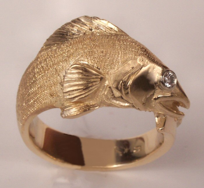 Rings Inspired By North American Wildlife 14k Fine Jewelry