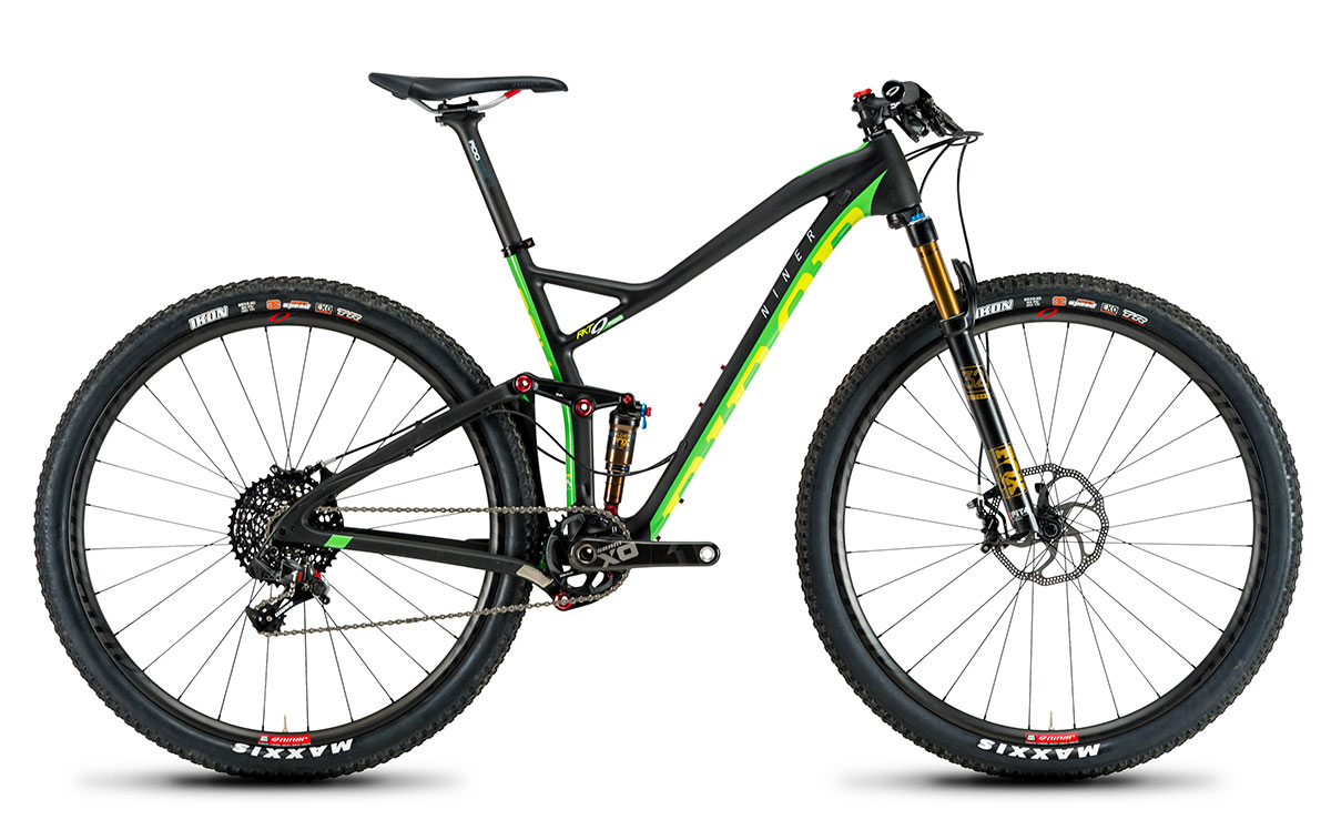 New! Niner's New Rocket RKT race bike launches