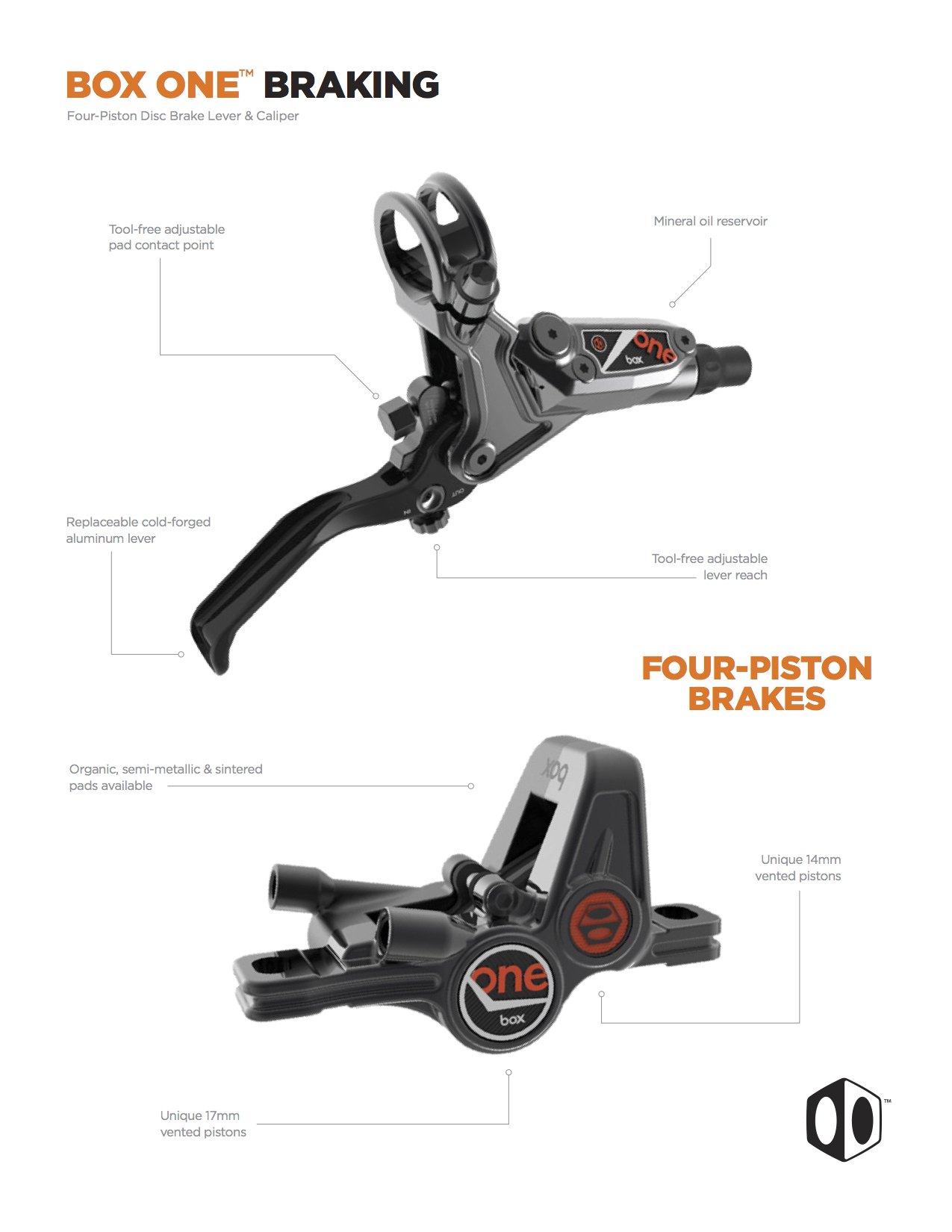 New Mountain Bike Groupset From Box Components