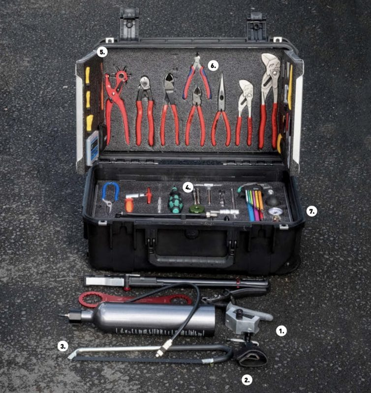 The 7 Top Tools Of The Trek Enduro Mechanic  Singletrack Magazine
