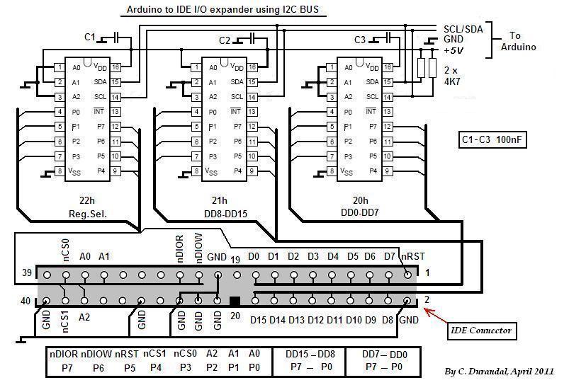 DIY Arduino ATAPI CD-ROM controller