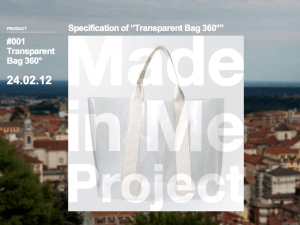 001 Transparent Bag 360° Made in Me Project