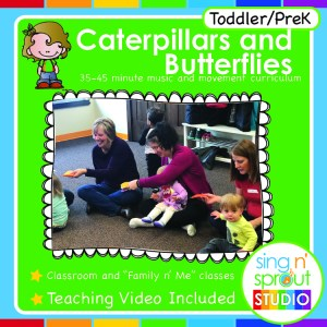 Caterpillars and Butterflies! Curriculum – Single Lesson