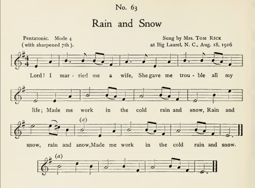 Cold Rain and Snow - Introduction - Sing Out!