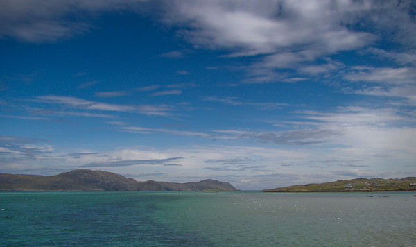 South Uist from the Erriskay Causeway