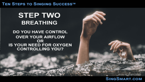 Singing Lessons Step Two - Breathing