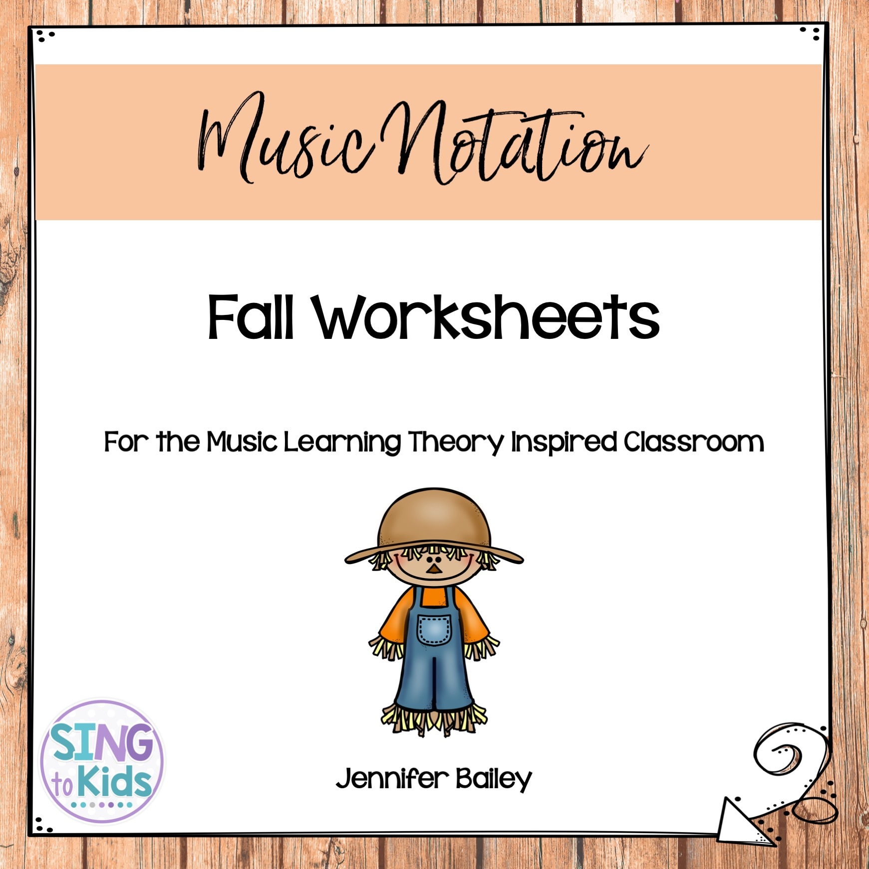 Fall Worksheets For The Music Learning Theory Inspired
