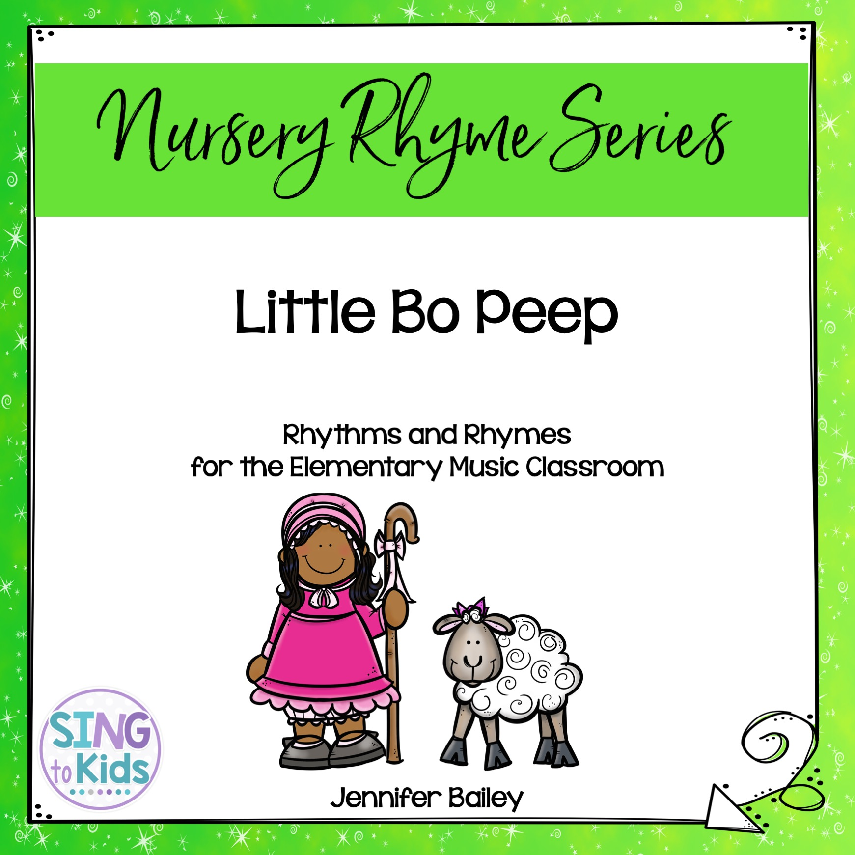 Little Bo Peep Rhythms Amp Rhymes For Elementary Music