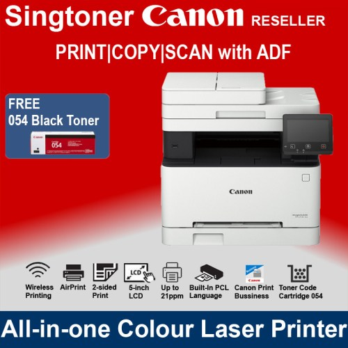 Canon MF643cdw All-In-One multi-function color printer