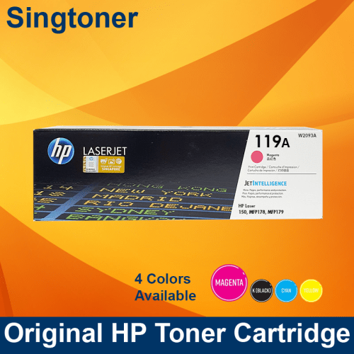 HP 119A MAGENTA LASER TONER CARTRIDGE 150 MFP178 179 W2093A 700pages