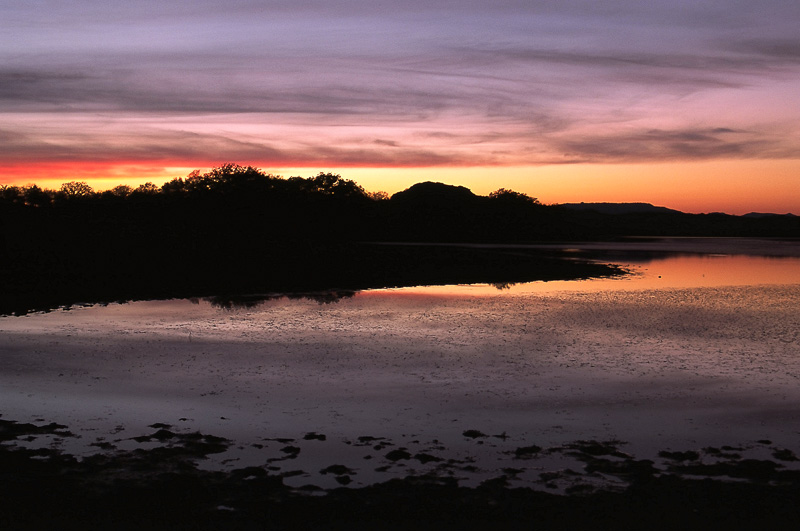 Quanah Parker Lake Sunset Wichita Mountains NWR Cache, OK