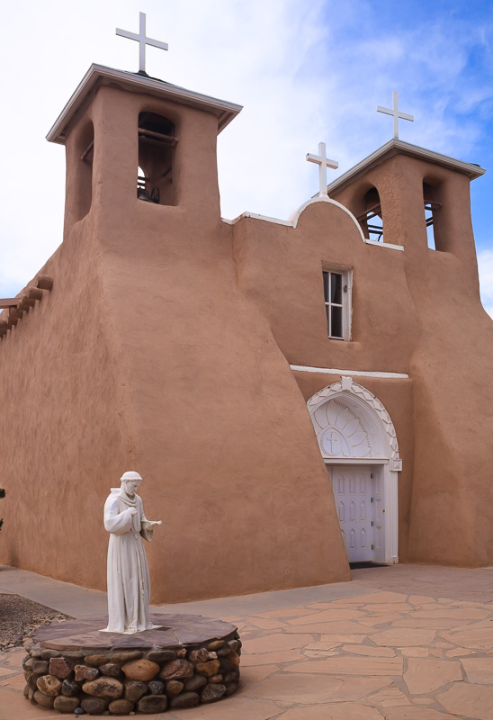 San Francisco de Asis Mission Church Ranchos de Taos, NM