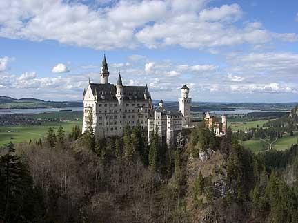 Postcard of Bavaria