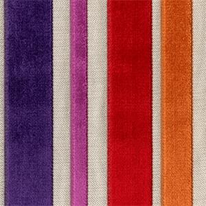 fabrics for chairs striped wicker back barnum carnival multi purple red cut chenille stripe upholstery fabric 37623 buyfabrics com