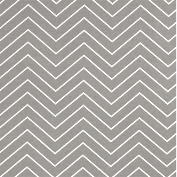 Chevron Gray Outdoor Upholstery Fabric by Premier Prints