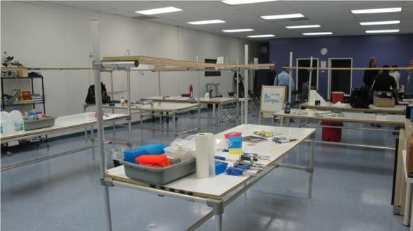 The new BioCurious lab